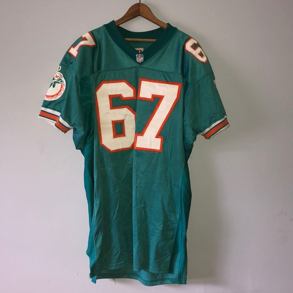 best website 61b9f afdf2 1994 Authentic Game Worn NFL Miami Dolphins Jersey
